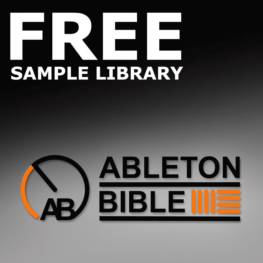 Ableton Bible Free Sound Library - Studio Slave